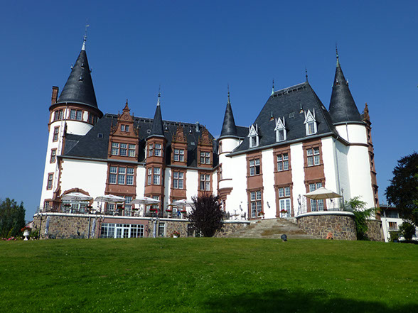 Chateau hotel, castle hotel